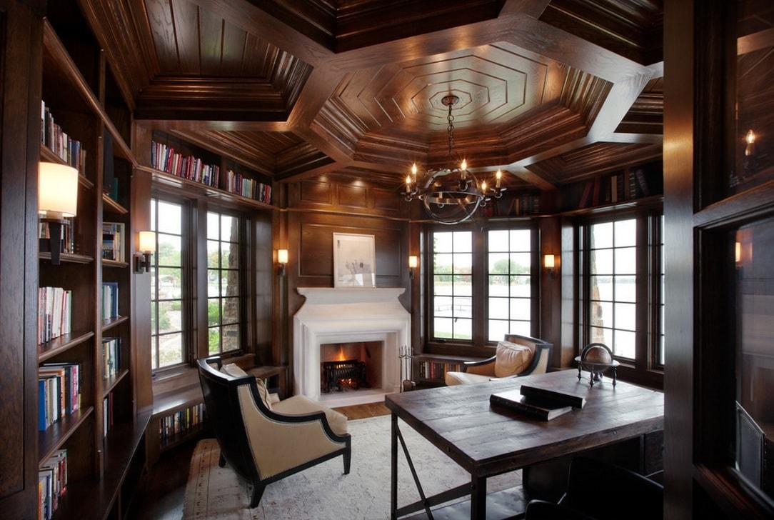 Деревянная мебель, наверное, никогда не выйдет из моды